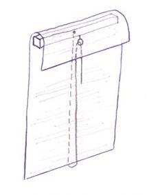 Ideas For Bedroom Window Blinds Front Doors House Blinds, Blinds For Windows, Window Blinds, Home Curtains, Curtains With Blinds, Window Coverings, Window Treatments, Cortina Roller, Roman Shade Tutorial