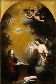 impartart:  Bartolomé Esteban Murillo, The Annunciation, c. n/d