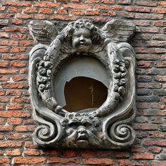 Ornate window in Amsterdam