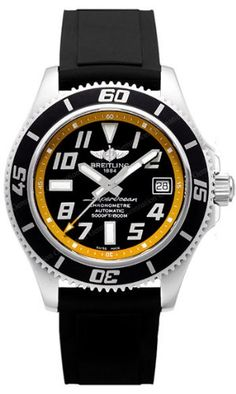 Breitling is one of the few privately-owned Swiss watchmakers left. Since Breitling has been making precision timepieces but first made its name in the aviation. Breitling Watches, Gents Watches, Cool Watches, Watches For Men, Modern Watches, Fine Watches, Tag Heuer, Breitling Superocean, Moda Masculina