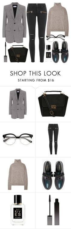 """Casual Days In Comfortable Way"" by nicolesynth ❤ liked on Polyvore featuring Balenciaga, Pilot, Paige Denim, Vince, Max&Co., Ellis Brooklyn and Serge Lutens"