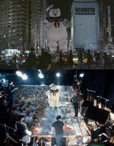 Movie Scenes and Sets - what you saw vs reality on set