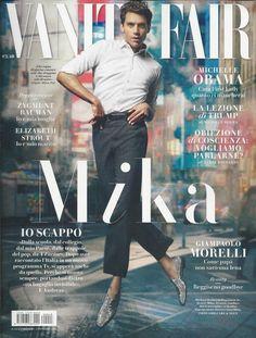 Vanity Fair magazine Mika Michelle Obama Elizabeth Strout Zygmunt Bauman Fashion