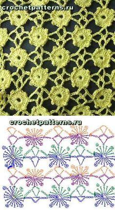 Captivating Crochet a Bodycon Dress Top Ideas. Dazzling Crochet a Bodycon Dress Top Ideas. Poncho Crochet, Crochet Motifs, Crochet Flower Patterns, Crochet Diagram, Crochet Stitches Patterns, Crochet Chart, Lace Patterns, Crochet Squares, Irish Crochet