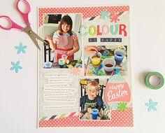 Colour Me Happy - Scrapbook.com