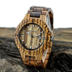 Want a chic watch and have no idea? How about get this #WoodWatch. It is made of sandalwood, light-weighted, unique in appearance, with aromatic smell. It is attractive enough to wear with a suit or to wear on a casual day. Surely you would receive many compliments on this classy watch. This woody watch will definitely add some fashion to your naked wrist!