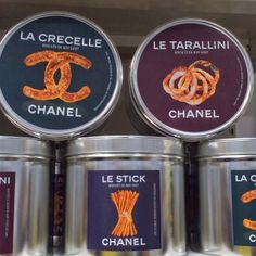 The Terrier and Lobster: Chanel Fall 2014 Supermarket Products