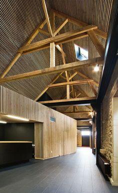 Prix national de la construction bois - Centre Léonce Georges- Chauffailles sur Saône