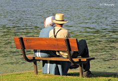 Young Couple enjoying the lake~ Sarah's Country Kitchen ~