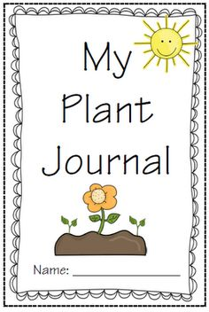 Plant Journal - Teachery Tidbits: Freebie