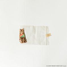 猫の日...  猫の日 JP  ニャーニャーニャーで猫の日です ビニールに入れて私の家の壁に飾ってある紙の猫を ピリッとはがして撮影しました この猫ちゃんは岡尾さんとイギリスの ルイスという街に行ったときに買ったものです アンティークショップがたくさんある街なんですけど そこのヴィンテージショップで見つけて かわいいと思って買って持って帰ってきて ずっと壁に貼っていました  何かの広告だとおもうのですが お行儀よくお座りしていてかわいいですよね  今回調べてみたら ドイツのrice starch の広告のようです ライススターチお米のでんぷん粉ですね コーンスターチのように使うのでしょうか 大段まちこ