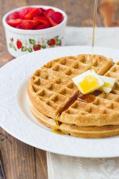 Buckwheat Blender Waffles {Gluten-Free} - Meaningful Eats
