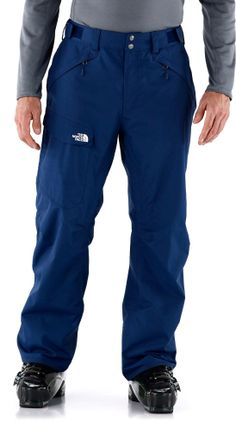 The North Face Freedom shell pants for men supply waterproof protection and a relaxed fit. #REIGifts