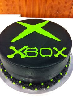X Box Cake Sons Birthday 13 Ideas Parties