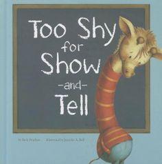 Too Shy for Show-and-Tell (Little Boost) by Beth Bracken, http://www.amazon.com/dp/1404874186/ref=cm_sw_r_pi_dp_ta63qb1C2AYFQ