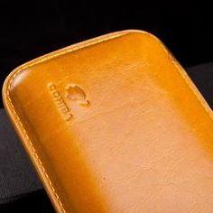 COHIBA Soft Leather 3 tube Cigar Case - CedarHumidor Leather Case, Soft Leather, Cigar Cases, Cigars, Tube, Leather Pencil Case, Cigar, Smoking, Leather Pouch