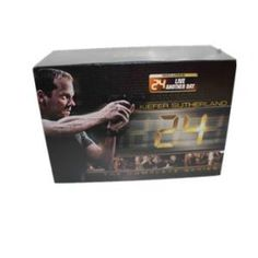 24 Complete Series & Live Another Day DVD Box Set