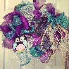 Owl wreath