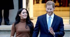 """Meghan Markle and Prince Harry, the Duke and Duchess of Sussex, have announced that they will step back as """"senior"""" members of the royal family and work to become financially dependent while still supporting Her Majesty The Queen. Prince Charles, Prince Andrew, Meghan Markle, Prince Harry Et Meghan, Harry And Meghan, Princess Meghan, Justin Trudeau, Oprah Winfrey, Commonwealth"""