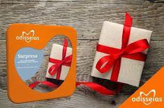 Marcas Avant-Garde: #Giveaway by Odisseias: 3,2,1... Surpresa!