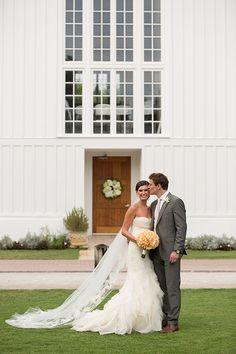 The bride and groom in Seaside, Florida | Brides.com
