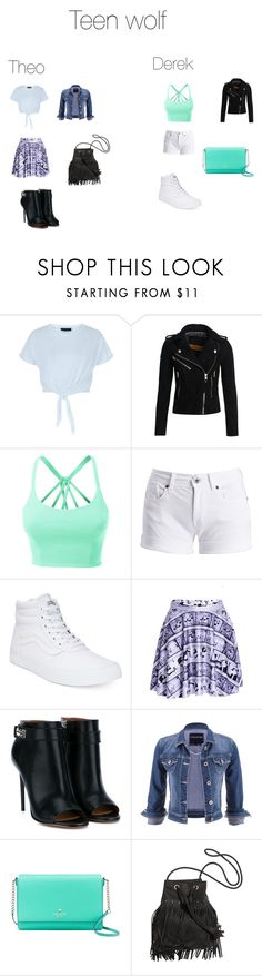 """""""Teen wolf outfits"""" by hhankins2002 ❤ liked on Polyvore featuring beauty, New Look, Superdry, LE3NO, Barbour International, Vans, Givenchy, maurices and Kate Spade"""