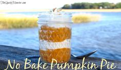 No Bake Pumpkin Pie - Easy Thanksgiving Recipe