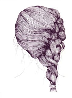 how to draw a braid i draw fashion - 236×320