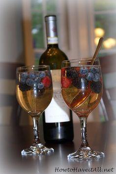 Very Berry Wine Spritzer