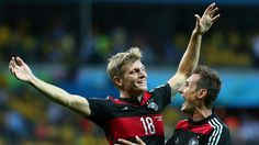 Toni Kroos added two more goals in a dominant German performance - Brazil 1-7 Germany #worldcup