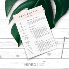 Hired Design Studio Cover Letter Format, Cover Letter Example, Cover Letter For Resume, Cover Letter Template, Cv Template, Cover Letters, Resume Layout, Resume Writing, Resume Design