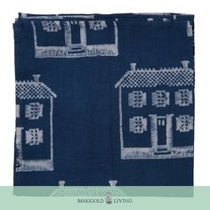 A delightful addition to any dinner table, our indigo print napkins are ideal for special occasions and lovely for simple meals.