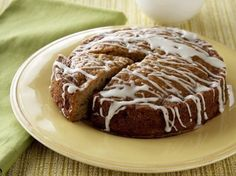 Frosted Apple Cake
