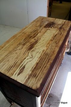 Hometalk :: How To Remove Damaged Veneer Before You Tackle A Furniture Makeover!