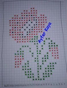 Şerife Şenel's media content and analytics Filet Crochet, Crochet Stitches, Crochet Patterns, Cross Stitch Embroidery, Cross Stitch Patterns, Crochet Carpet, Flower Embroidery Designs, Simple Cross Stitch, Quilt Blocks