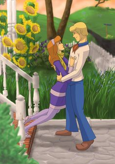 Mushy Mush by MisplacedExplorer on DeviantArt Daphne And Fred, Daphne Blake, Scooby Doo Mystery Incorporated, Shaggy And Scooby, Cartoon Icons, Great Pic, Hanna Barbera, Have A Beautiful Day, Summer Kids