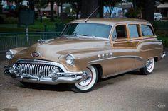 1952 Buick Station Wagon