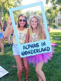 Alphas in Wonderland, bid day theme