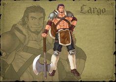Fire Emblem 9 Path of Radiance  Largo