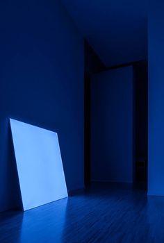 """Pablo"", panel luminoso sin marco, de DAVIDE GROPPI."