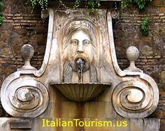 Fontana del Mascherone Via Giulia  Rome.
