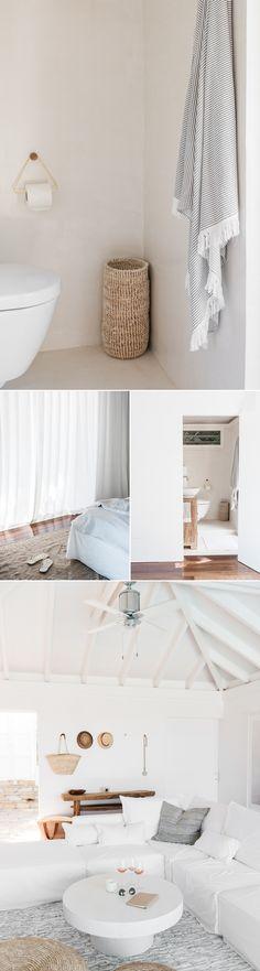 Binnenkijken | Zomers wit wonen op St. Barth • Stijlvol Styling - Woonblog •