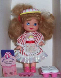 Cherry Merry Muffin Penny Peppermint Doll.