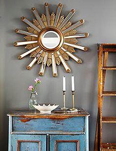 EN MI ESPACIO VITAL: Muebles Recuperados y Decoración Vintage: muebles de oficio