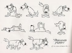 Precious Pupp || CHARACTER DESIGN REFERENCES | Find more at https://www.facebook.com/CharacterDesignReferences if you're looking for: #line #art #character #design #model #sheet #illustration #best #concept #animation #drawing #archive #library #reference #anatomy #traditional #draw #development #artist #how #to #tutorial #conceptart #modelsheet #animal #animals #dog #wolf #fox #dogs