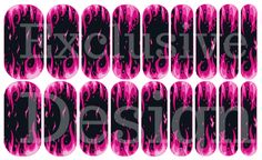 #HarleyDavidson #WomenWhoRide #NailArt #Jamberry #NAS Flaming Beauty~My personal design in Nail Art Studio~ www.facebook.com/lovinjams PM me for order details. Read more about my love for Jamberry at www.scrutinizinglife.com