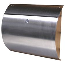 $187 - Spira Wall Mount Mailboxes Stainless Steel