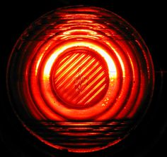 red light lamp