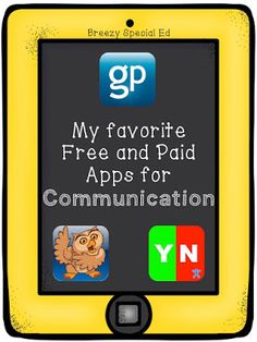 Breezy Special Ed: Communication Apps for Special Education