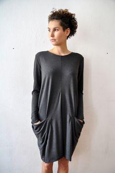 Pocket dress No 3 - PulpaDesign - Sukienki